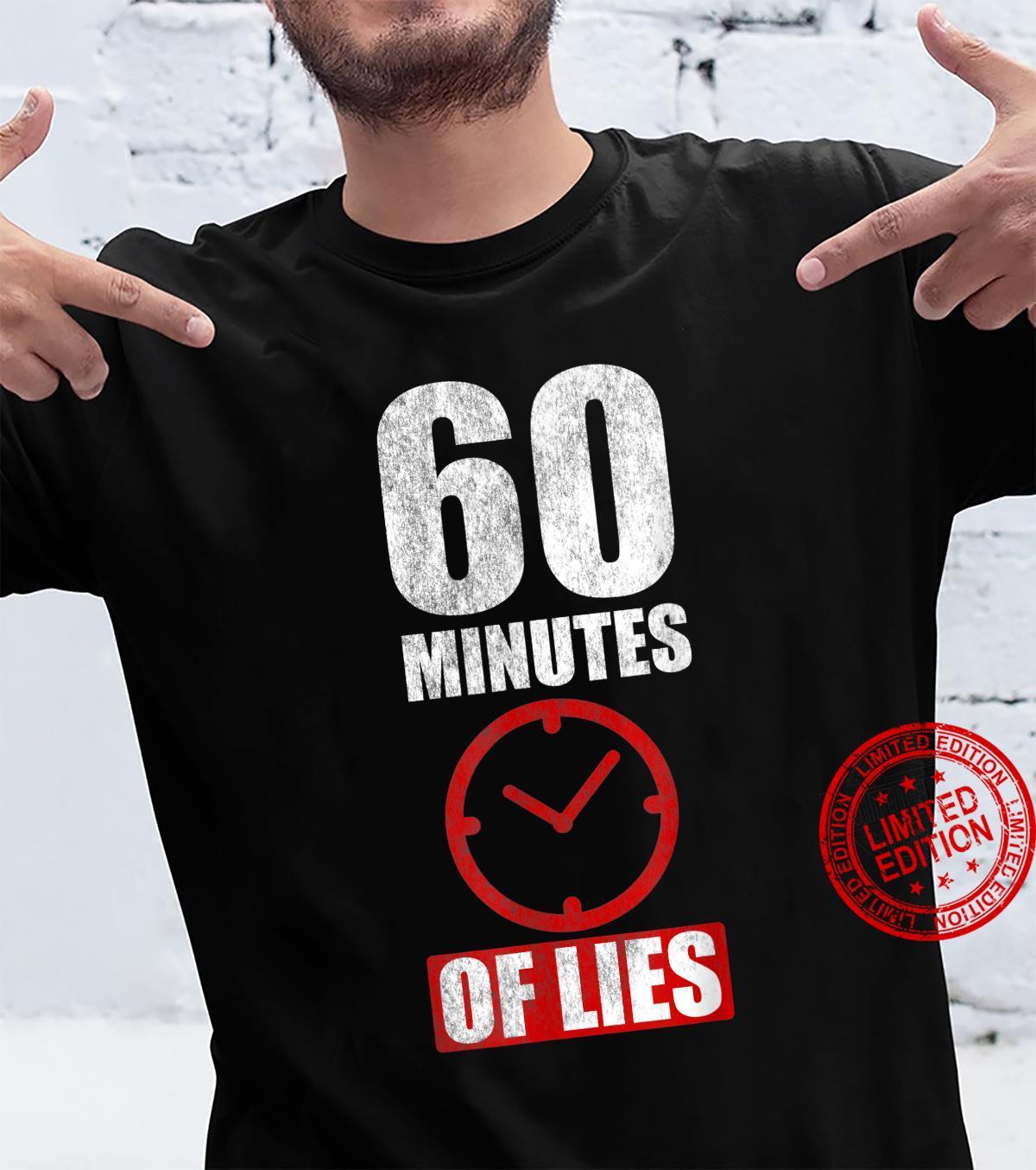 60 Minutes Of Lies desantis quote Shirt