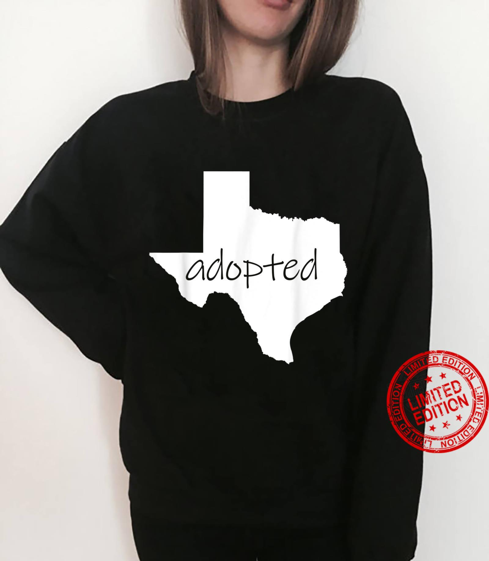 Adopted Texans Shirt I'm Moving To Texas Welcome Y'all Shirt sweater