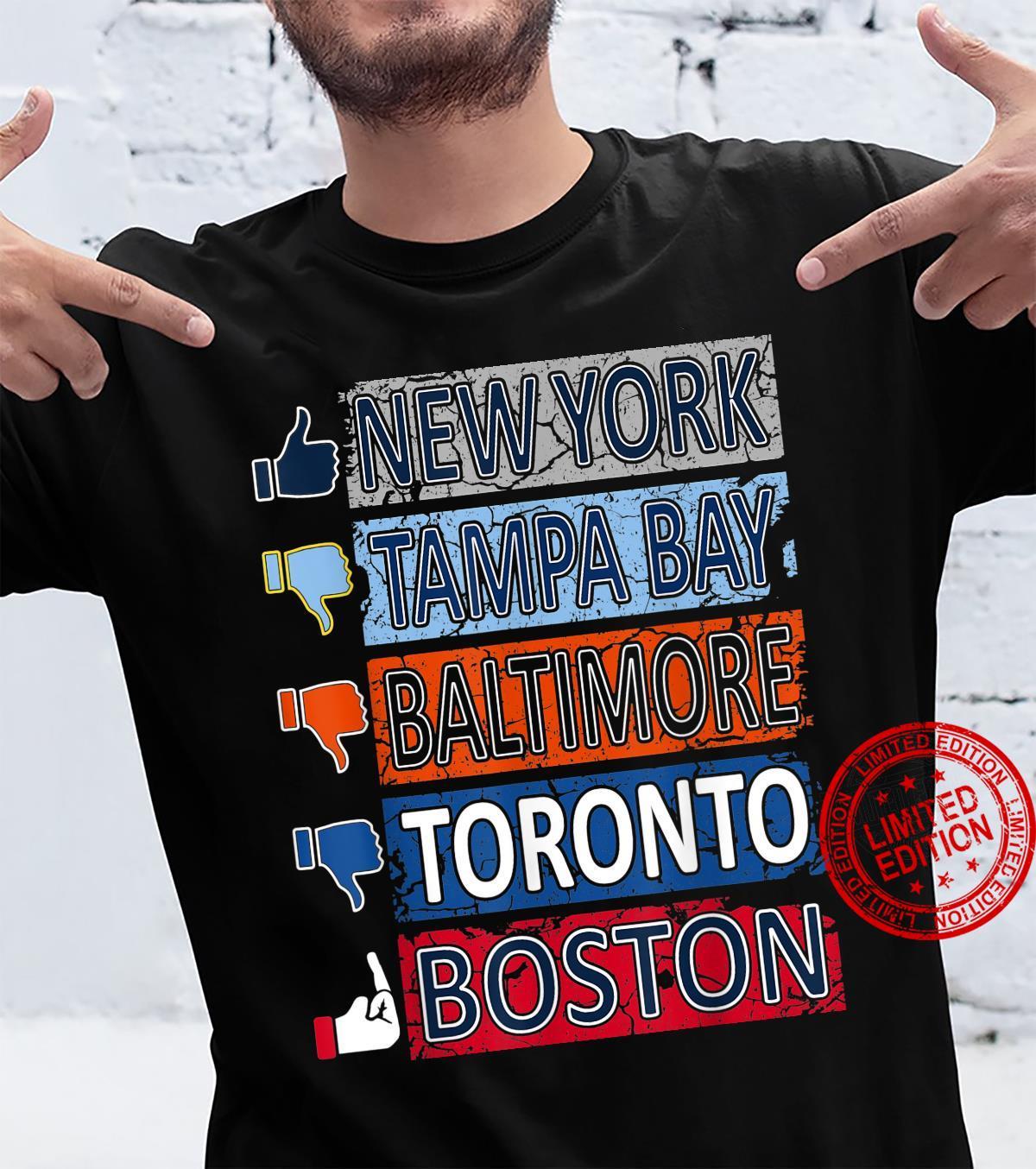 Baseball Fan of NY City Shirt