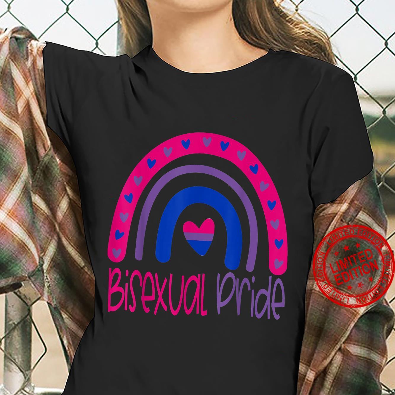Bisexual Pride Flag LGBTQ Shirt ladies tee