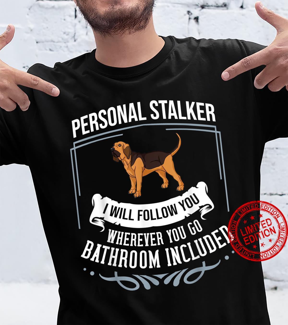 Bloodhound Dog Puppies Owner Shirt