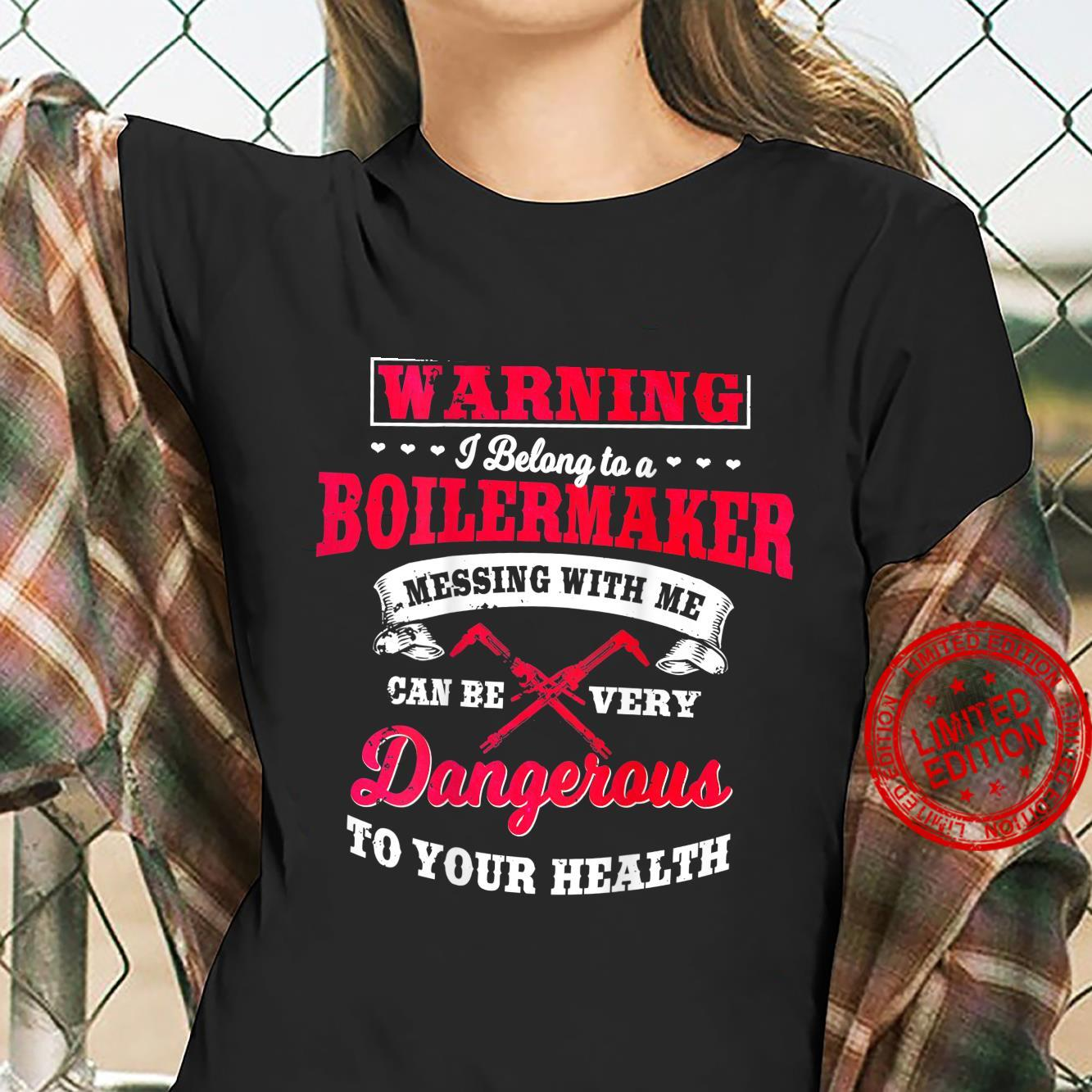 Boilermaker Wife Design On Back Of Clothing Shirt ladies tee