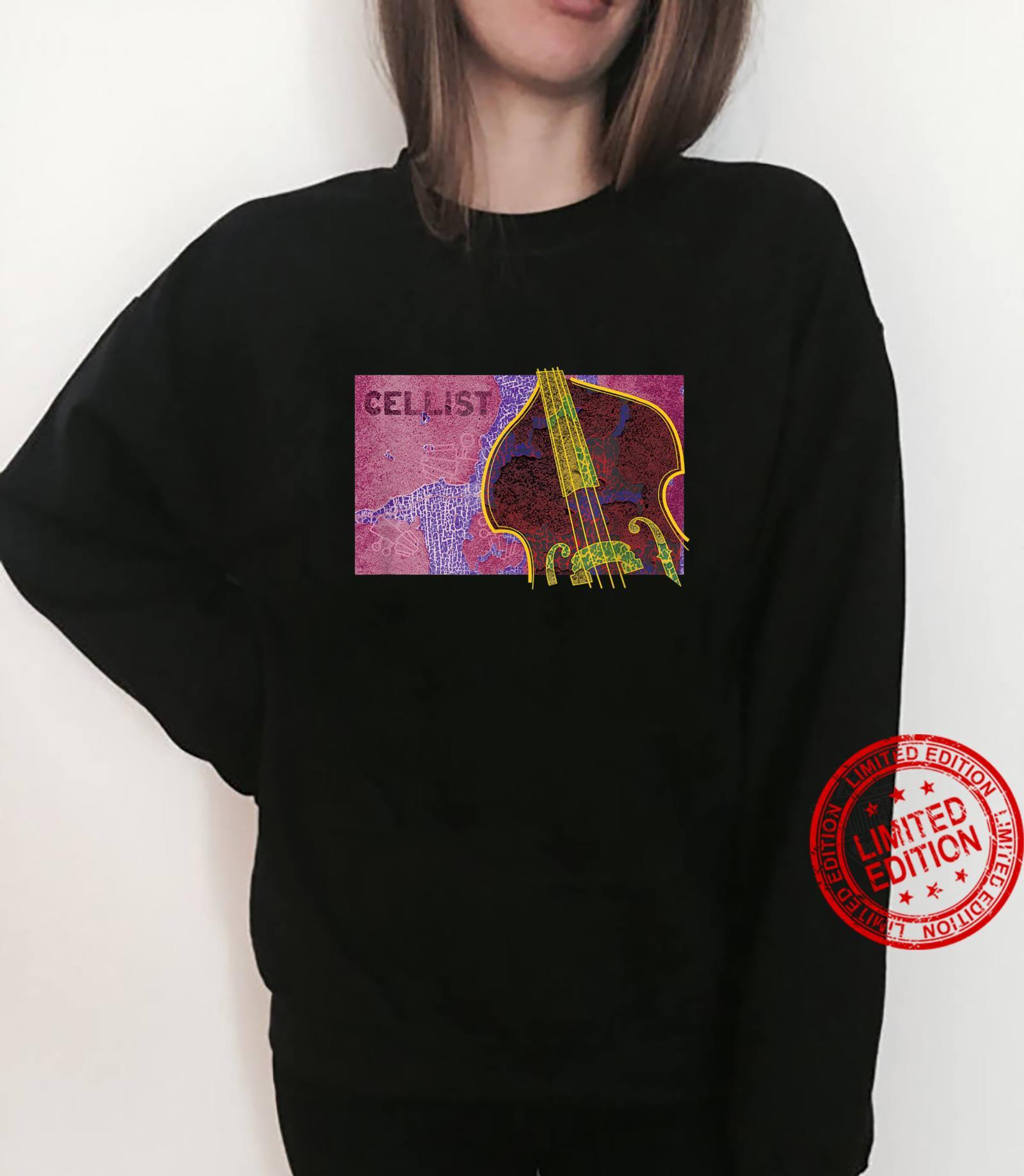 Cellist Musical Apparel Shirt sweater
