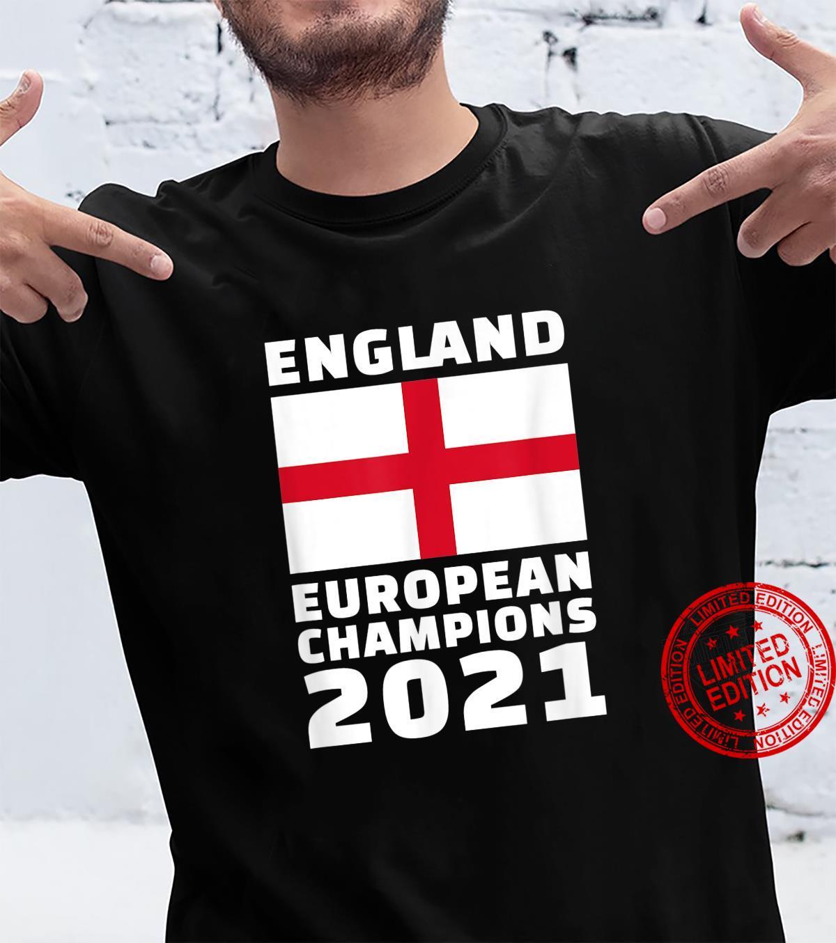 England Europameister 2021 Shirt