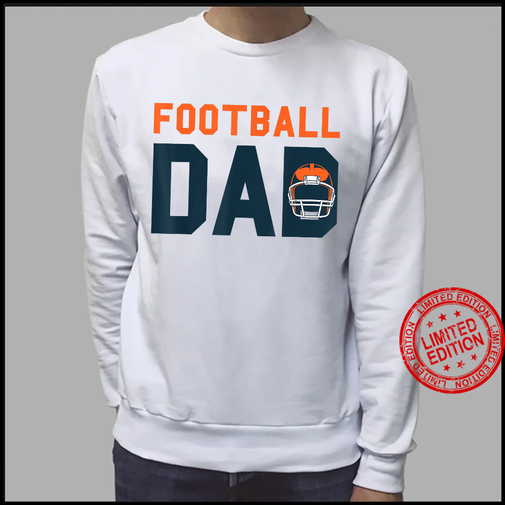 Football Dad Fathers Day American Football Sport Tournamet Shirt sweater