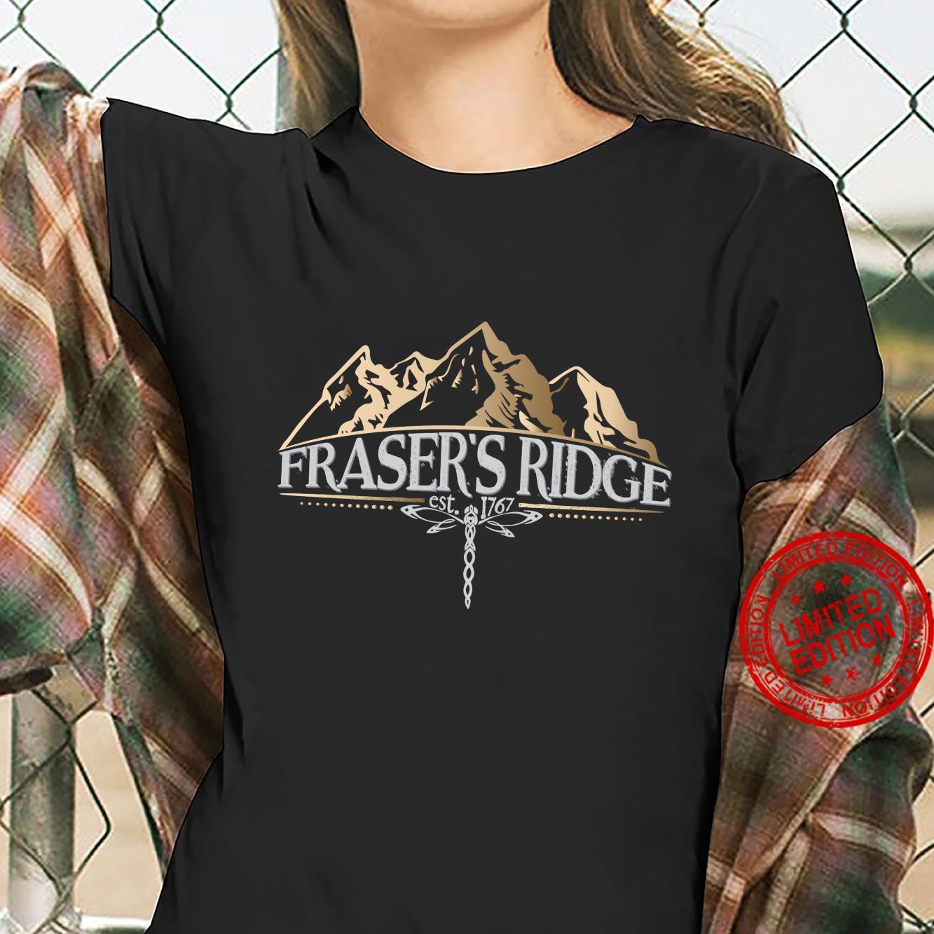 Fraser's Ridge Libelle Beige Schottisches Geschenk Shirt ladies tee