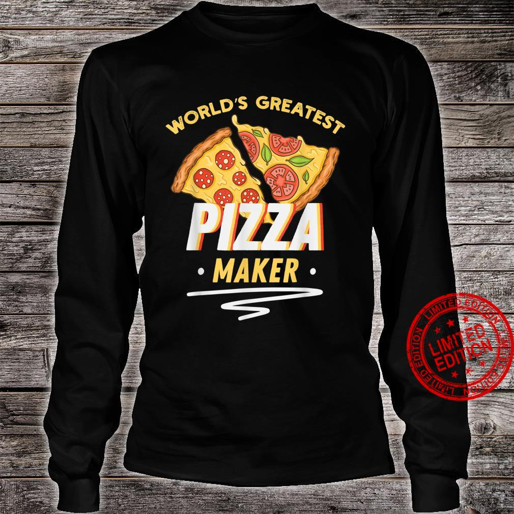 Funny Pizza Pizza Delivery Man Pizza Maker Shirt long sleeved