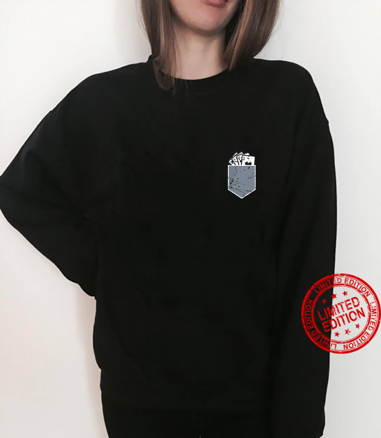 Funny Poker Player Pocket Aces Card Loves Gambling Shirt sweater