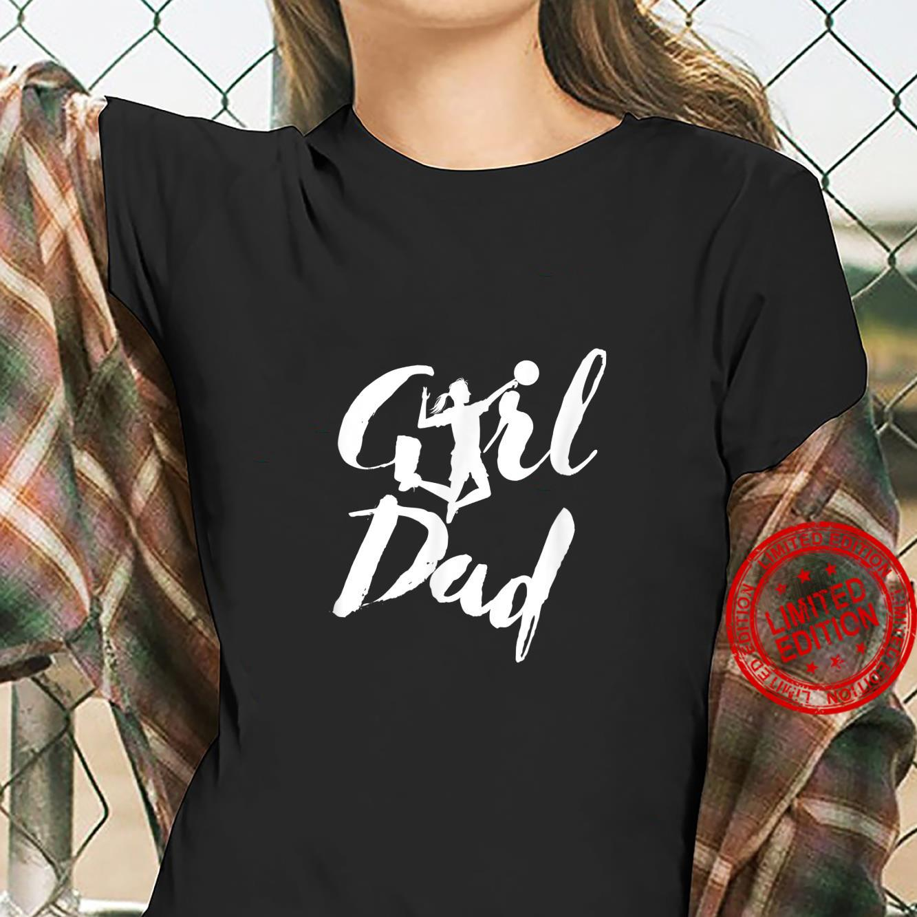Girl Dad Volleyball Daddy's Daughter Shirt ladies tee
