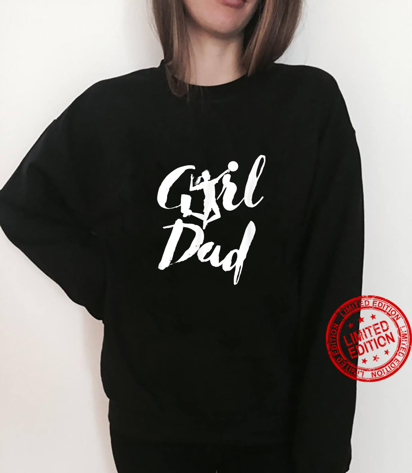 Girl Dad Volleyball Daddy's Daughter Shirt sweater