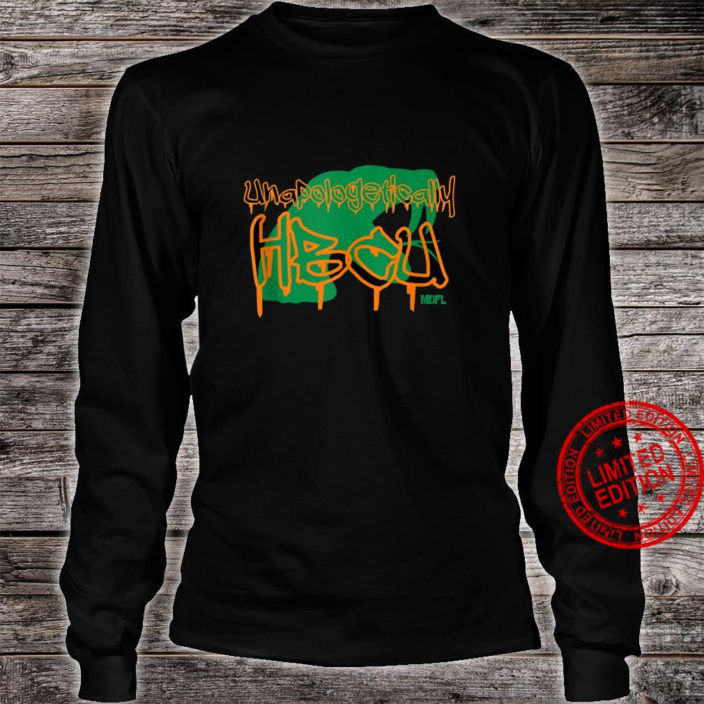 MDFL Designs Unapologetically HBCU FAMU Shirt long sleeved