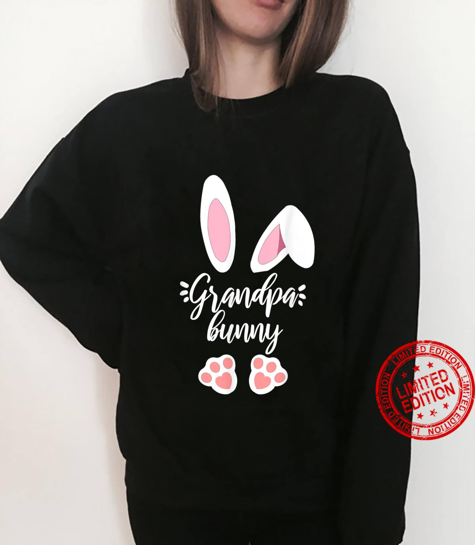 Mens Grandpa matching family easter outfits easter bunny costume Shirt sweater