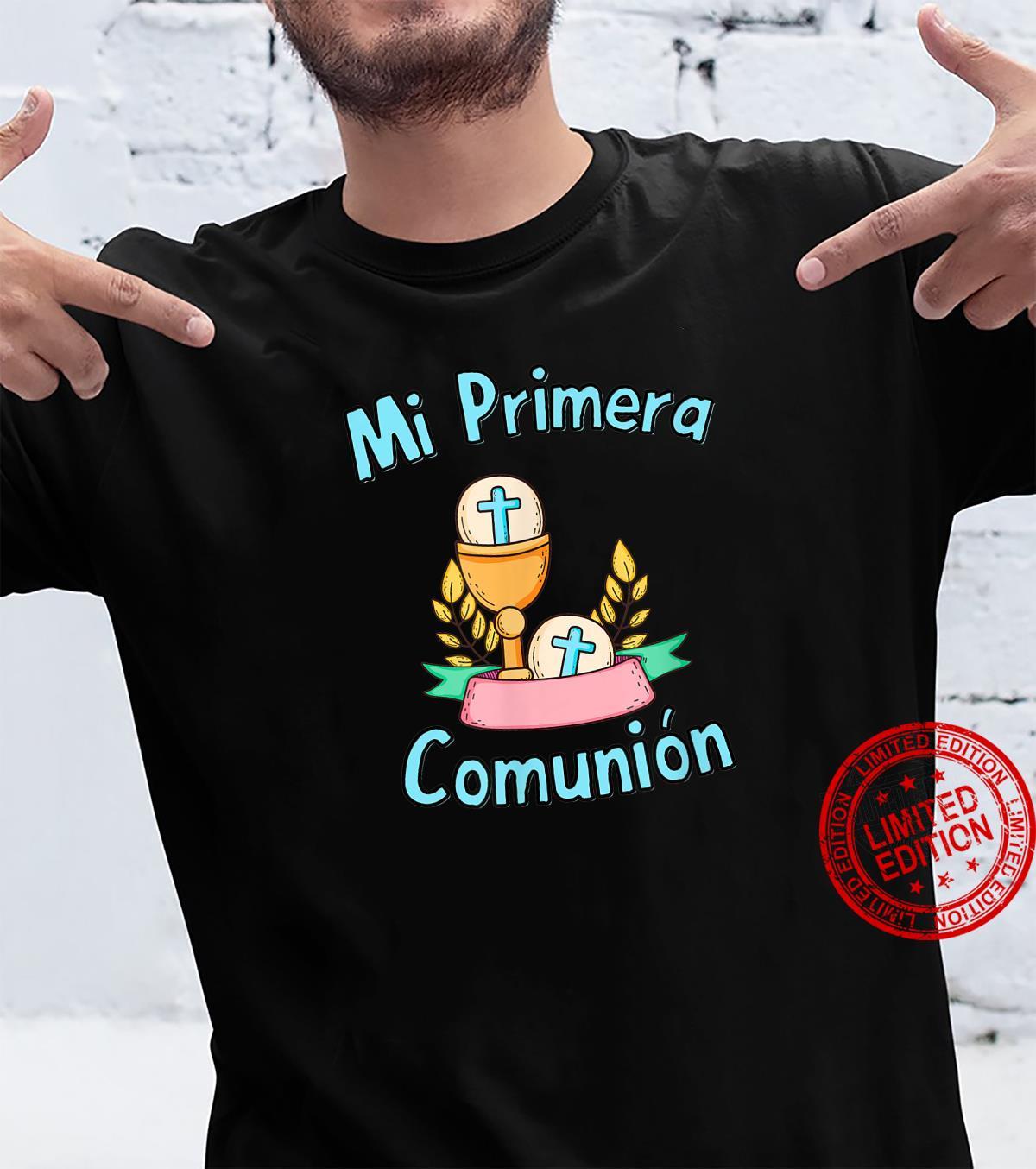 Recuerdos de Primera Comunion Cristiano Catolico para chicos Shirt