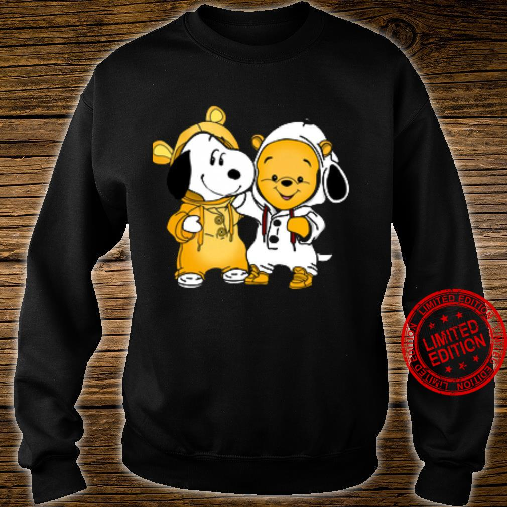 Snoopy And Pooh Shirt sweater