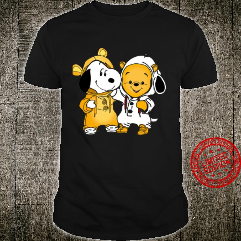 Snoopy And Pooh Shirt