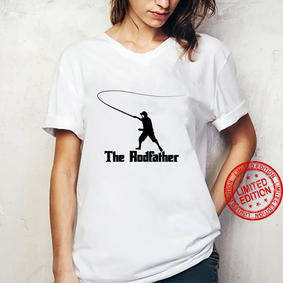 The Rodfather Funny Fly Fishing, Fishing Shirt ladies tee