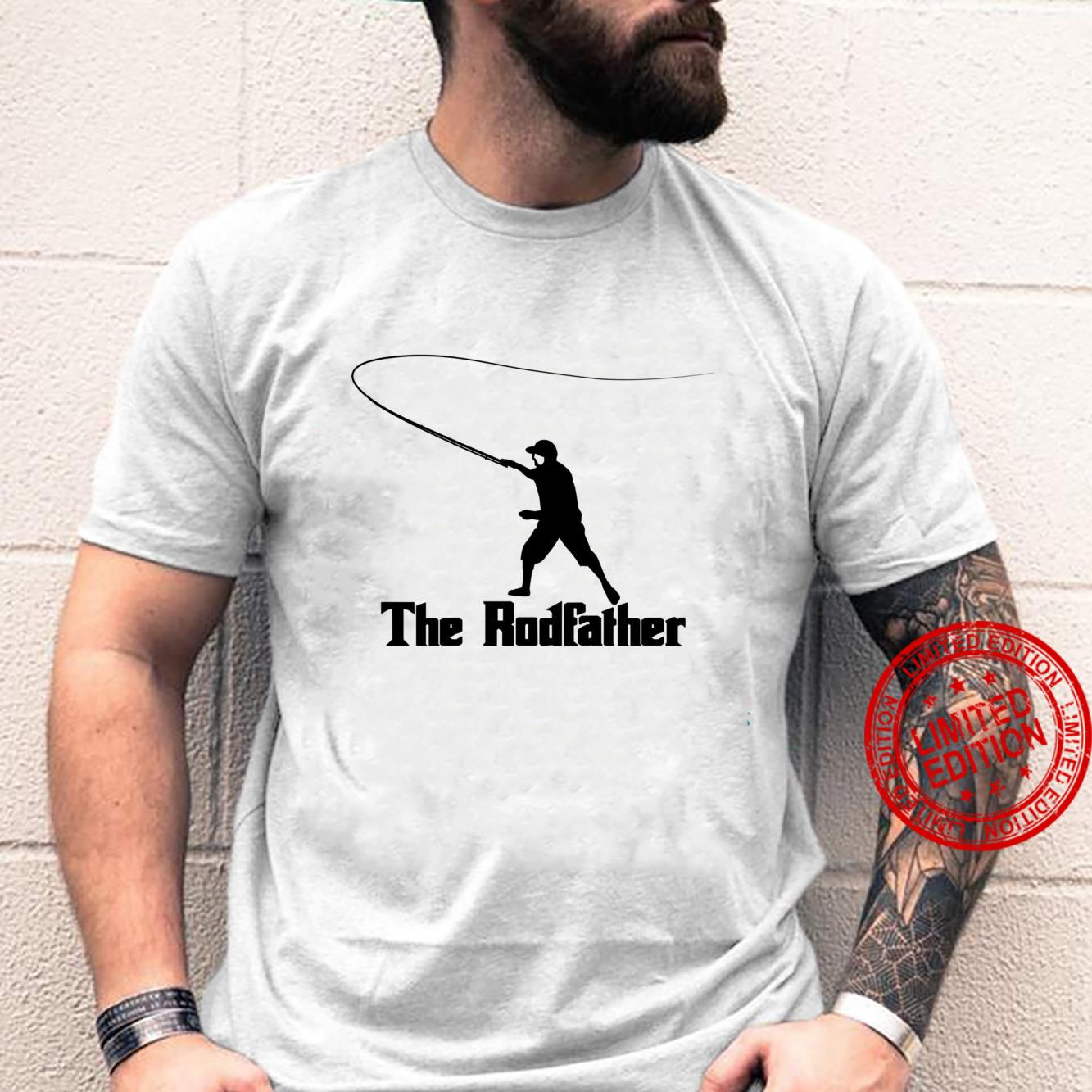 The Rodfather Funny Fly Fishing, Fishing Shirt