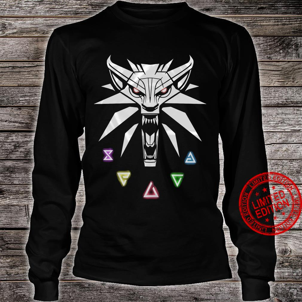 The Witcher Shirt long sleeved