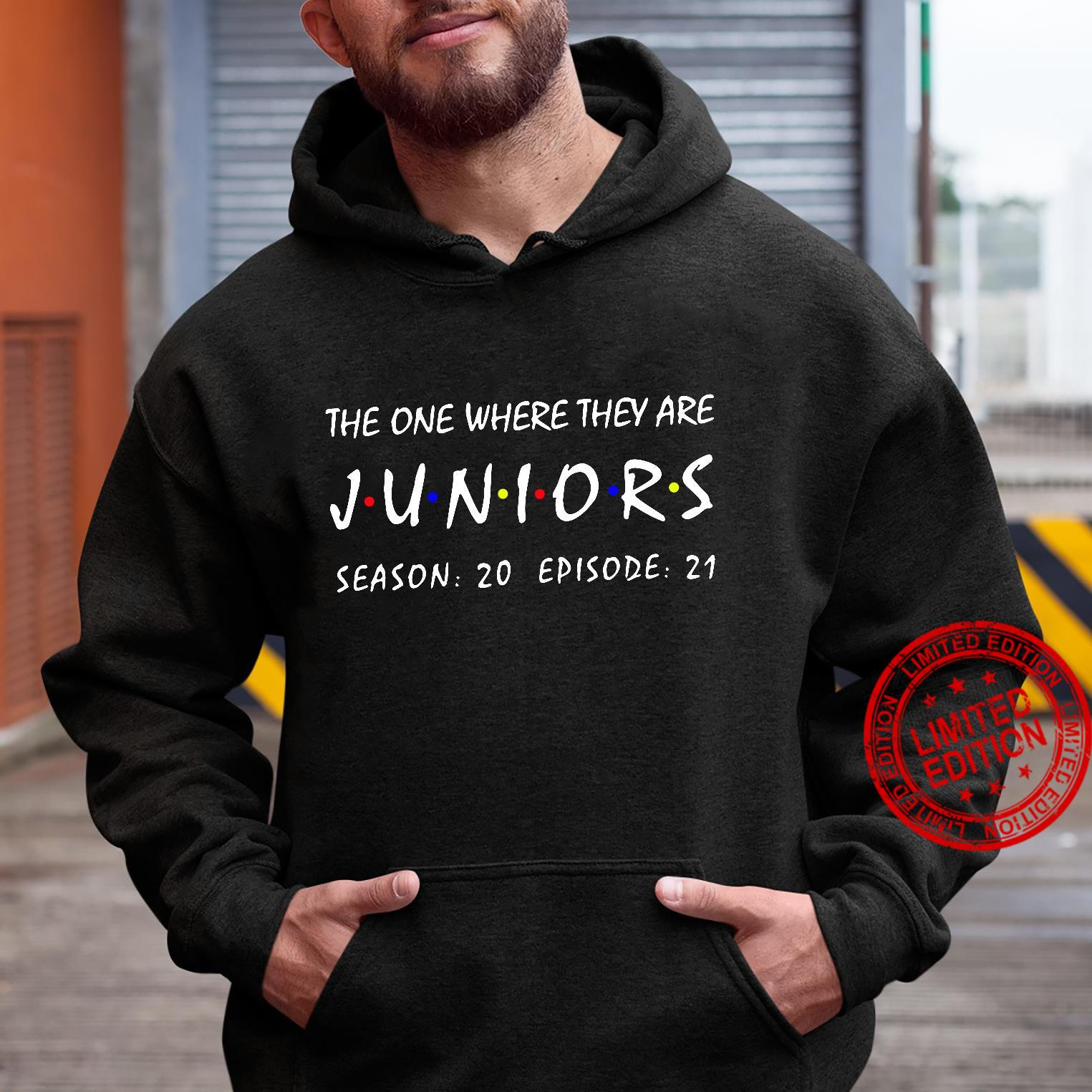 The one where they are Juniors season 20 episode 21 shirt hoodie