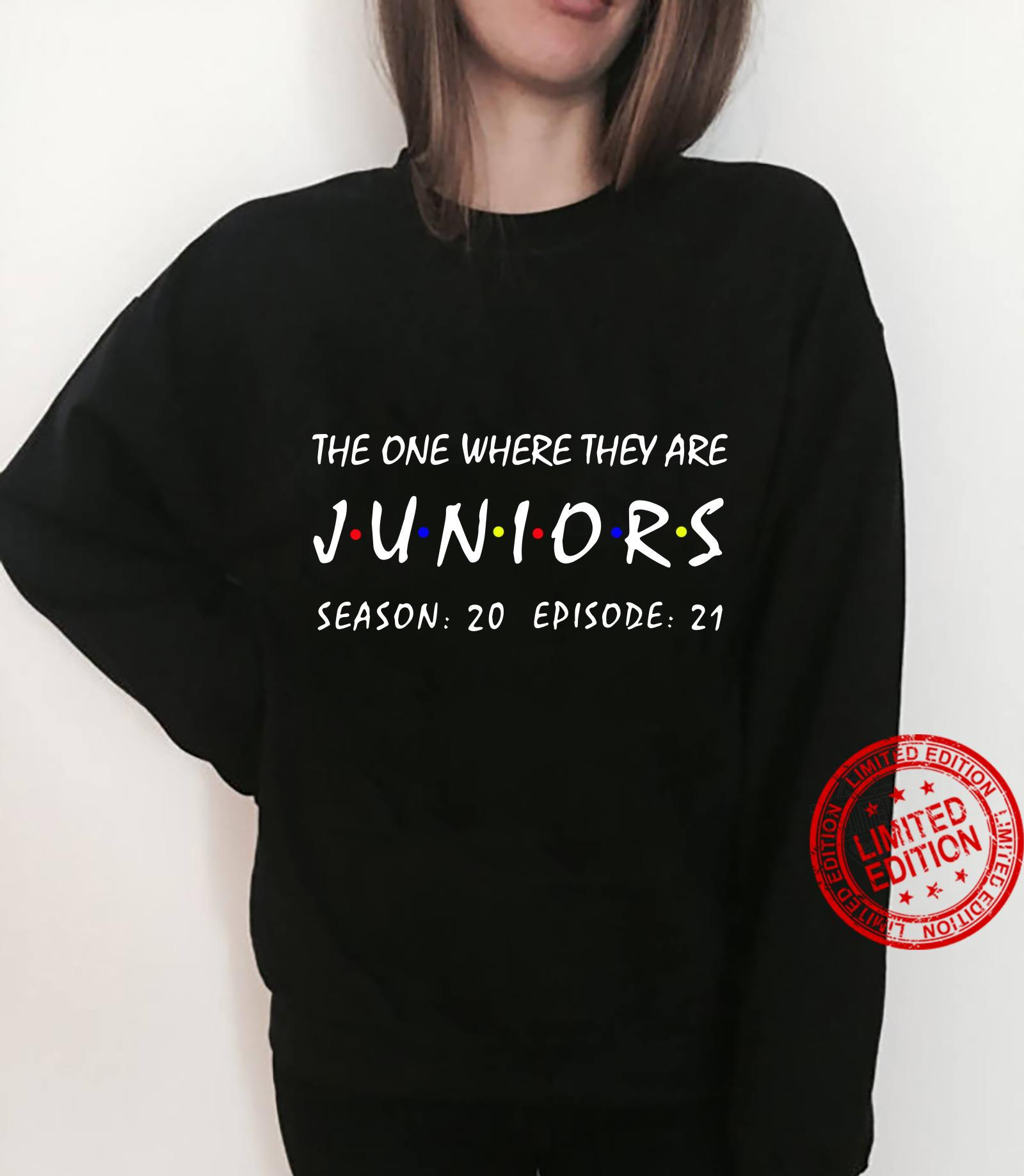 The one where they are Juniors season 20 episode 21 shirt sweater
