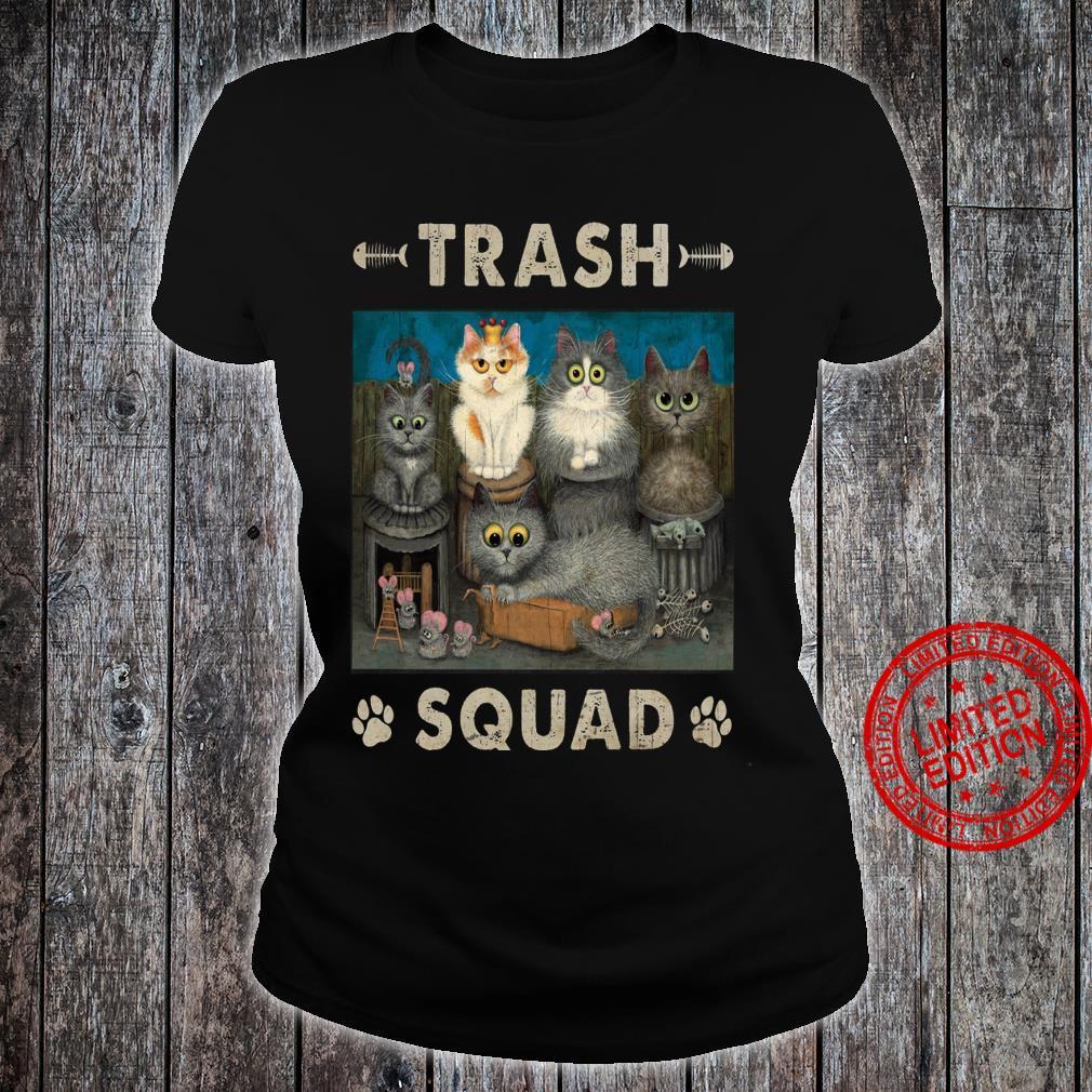 Trash Squad Shirt ladies tee