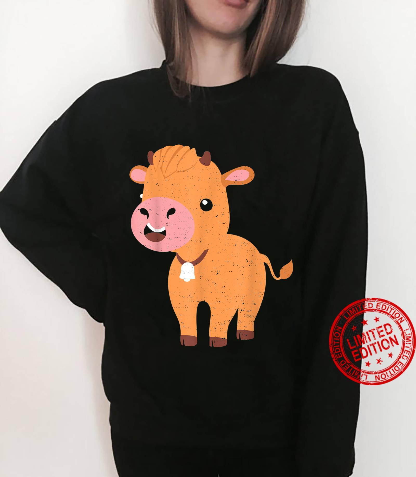 Vieh Highland Cattle Cow Landwirt Sprüche Shirt sweater