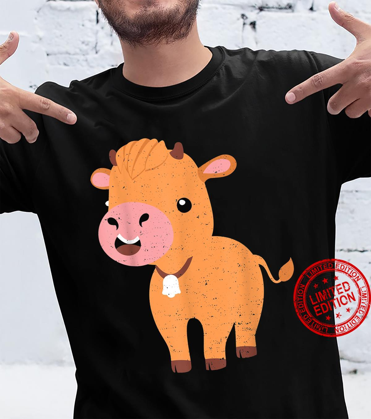 Vieh Highland Cattle Cow Landwirt Sprüche Shirt