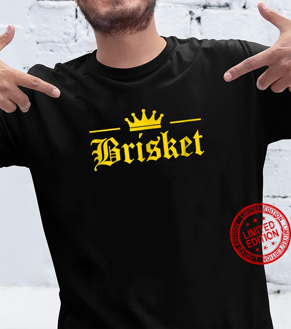 Vintage Brisket Is King Latino Style Shirt