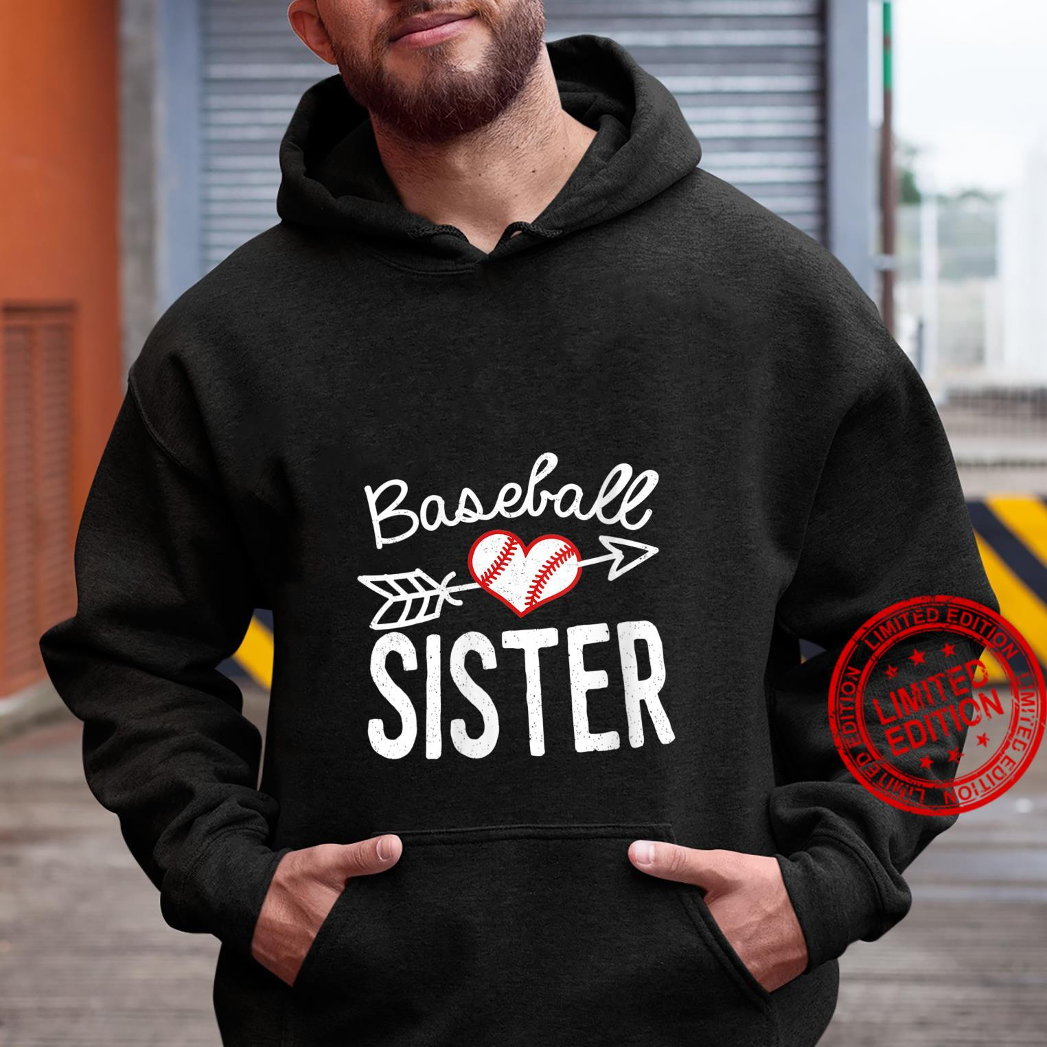 Womens Baseball Sister best for mom and sister Shirt hoodie