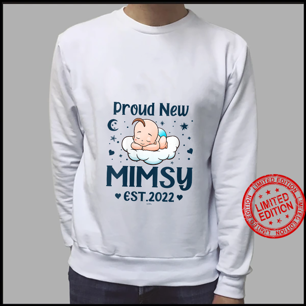 Womens Mimsy Proud New Mimsy EST 2022 Mother's day Shirt sweater