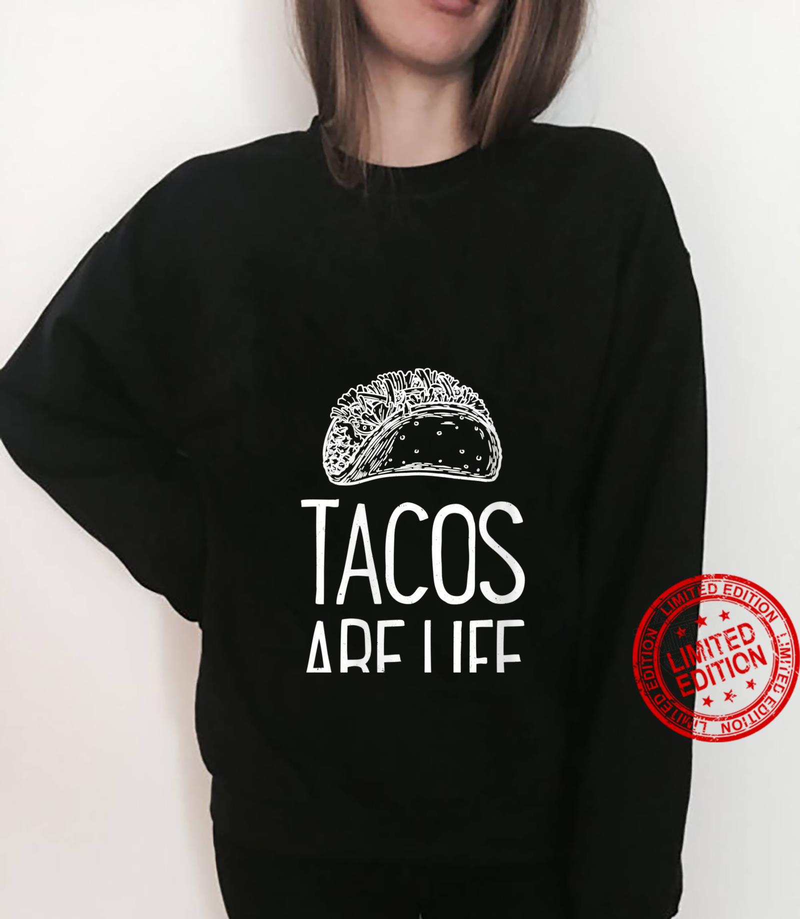 Womens Tacos Are Life Cinco De Mayo Mexican Food Shirt sweater