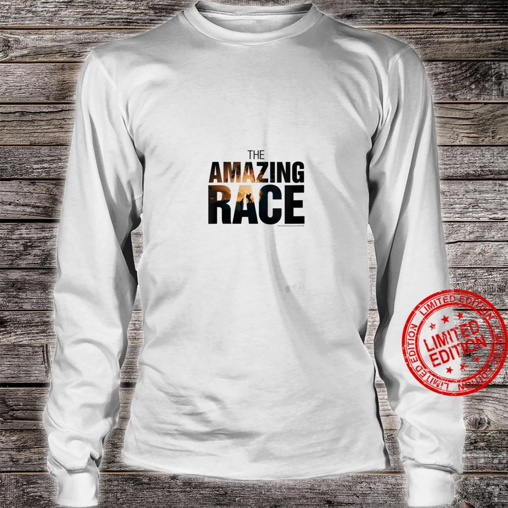 Womens The Amazing Race Color Logo Shirt long sleeved
