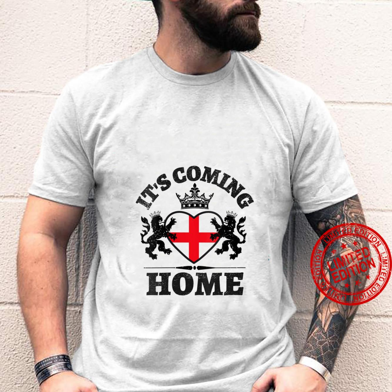 Womens Vintage England Flag Soccer Jerseys It's Coming Home Shirt