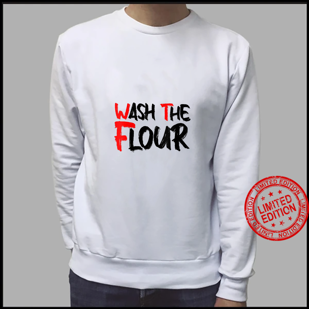 Womens Wash The Flour Super Seitan Appreciation vegan meat Shirt sweater
