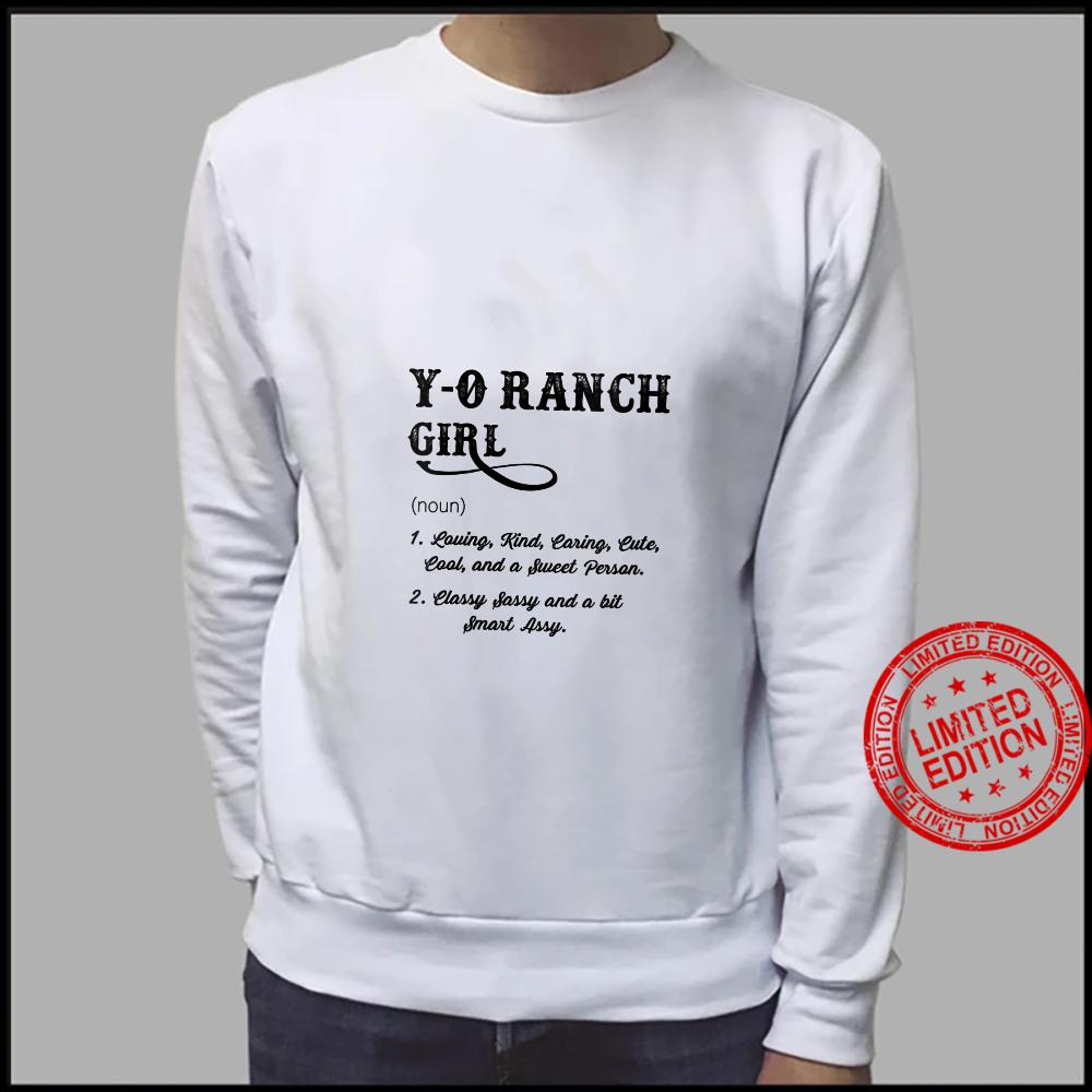 Womens YO Ranch GIRL Wyoming Definition 's Shirt sweater