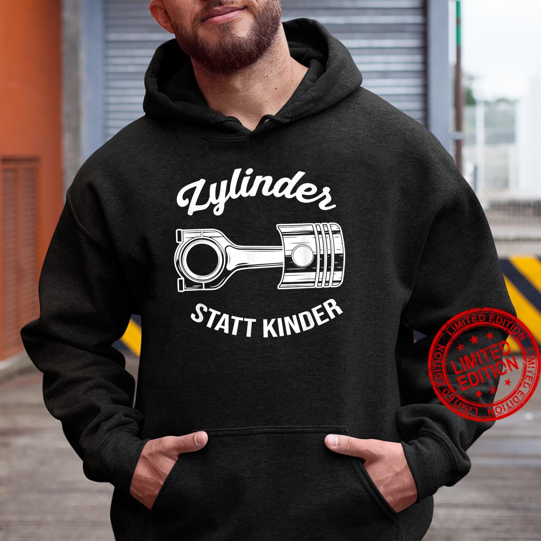 Zylinder Statt Kinder Lustiges Auto Motor Tuner Tuning Shirt hoodie