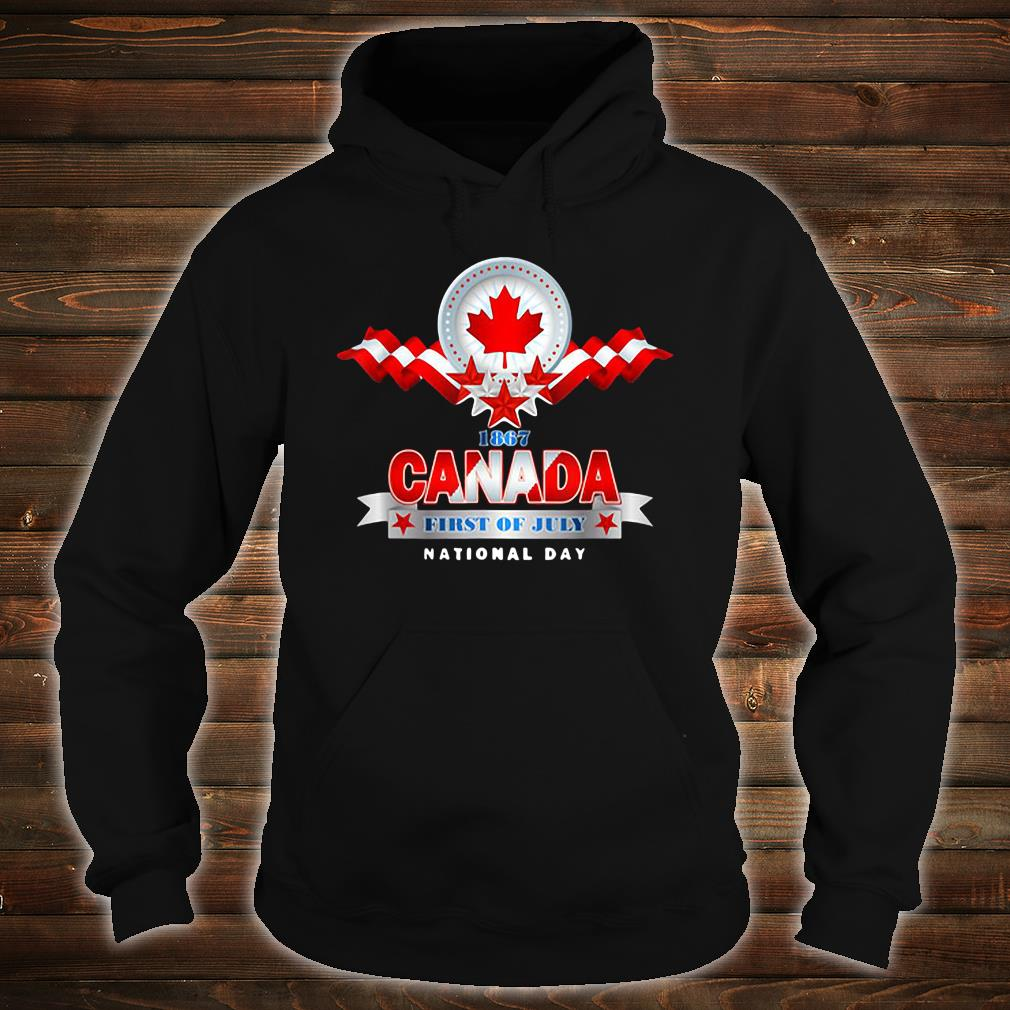1867 Canada first of July national day shirt hoodie