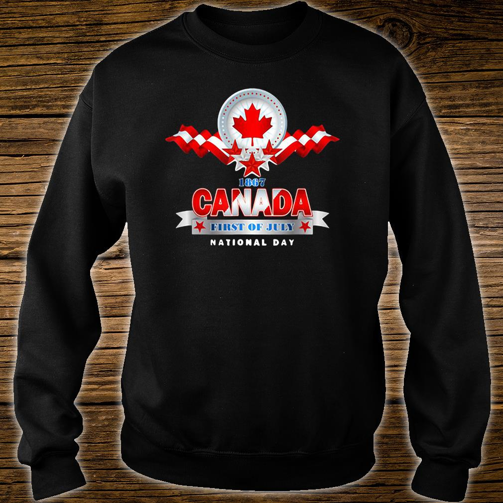 1867 Canada first of July national day shirt sweater