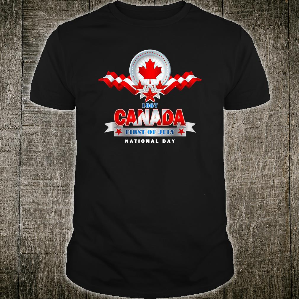 1867 Canada first of July national day shirt