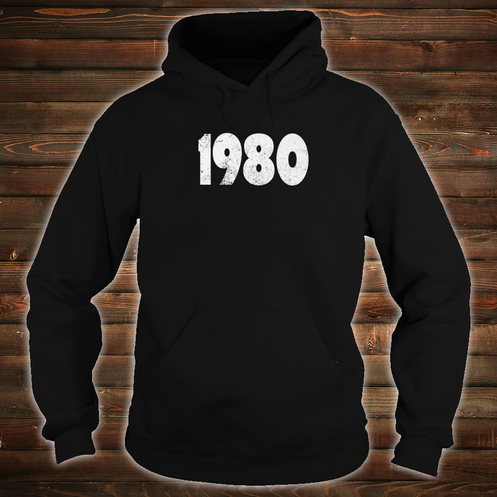 1980 Made in the 1980s 1980 Birthday Shirt hoodie