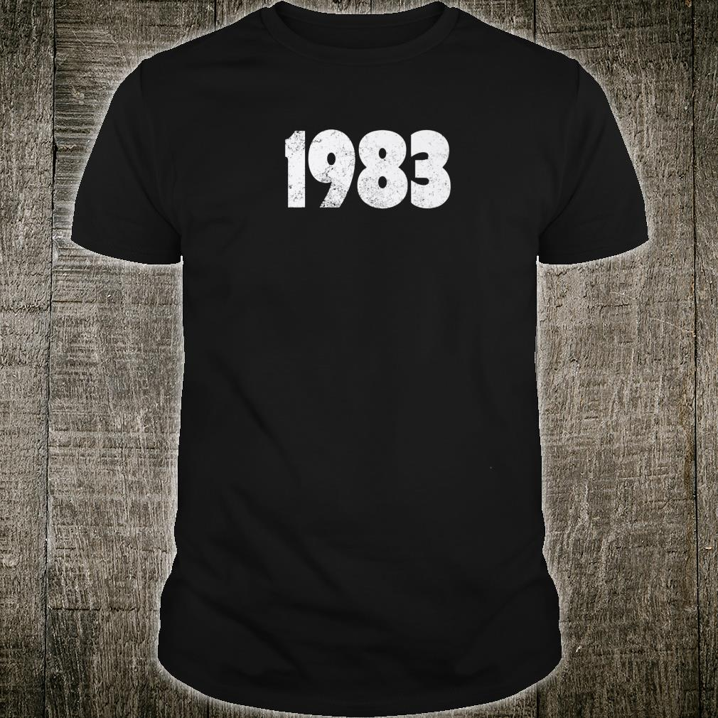 1983 Made in the 1980s 1983 Birthday Shirt