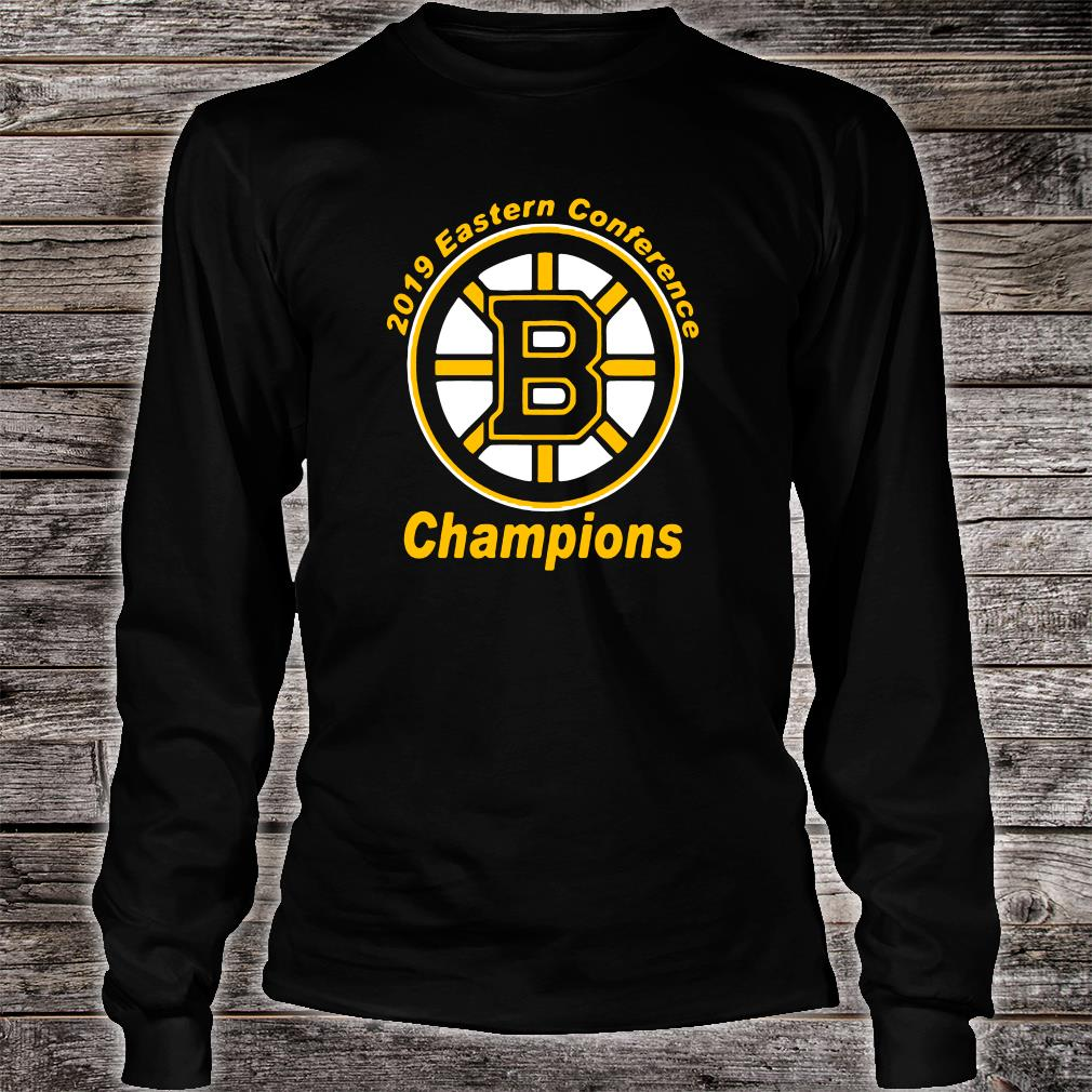 2019 Boston Eastern conference champions shirt long sleeved