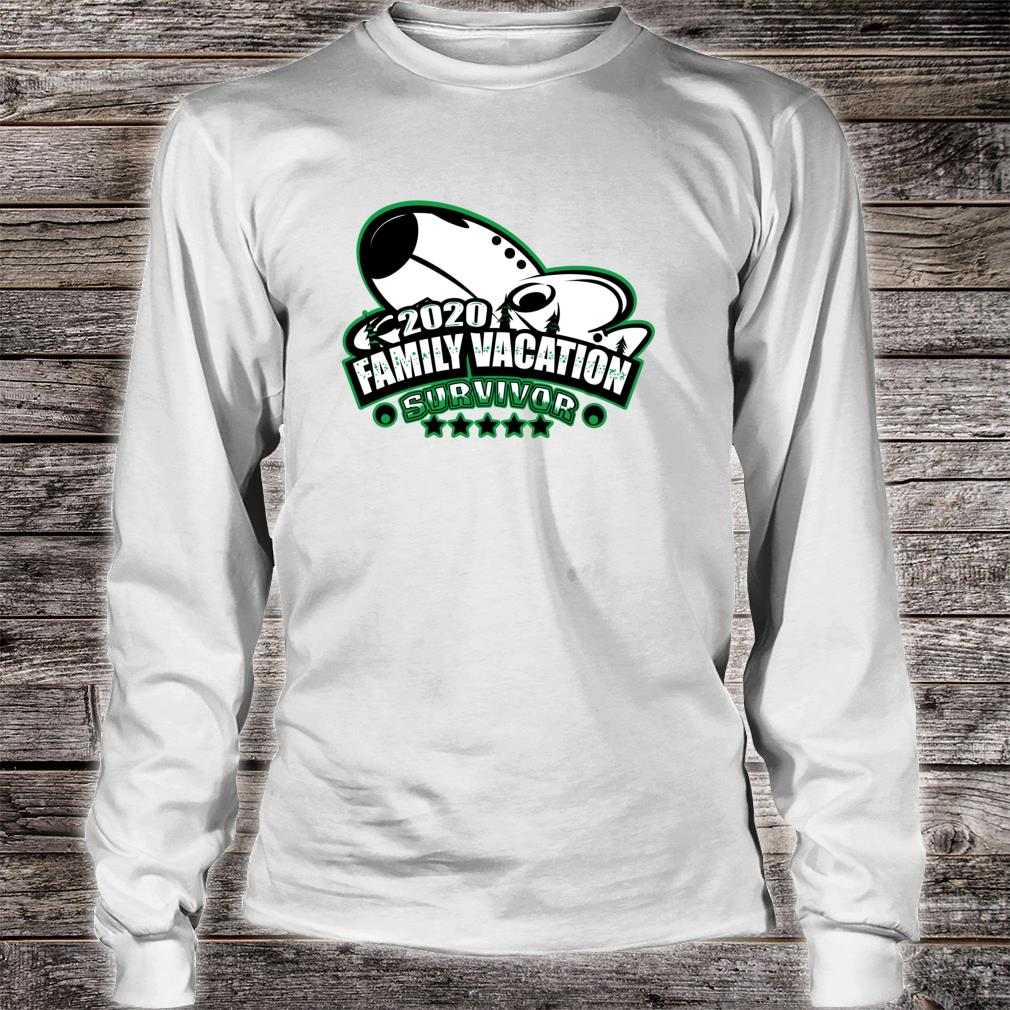 2020 Family Vacation Survivor Airplane Flying Souvenir Shirt long sleeved