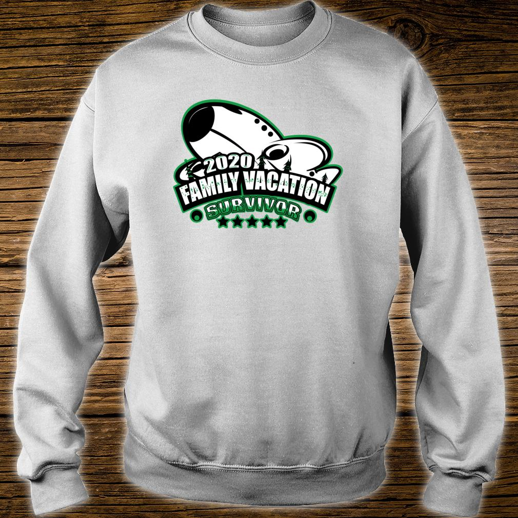 2020 Family Vacation Survivor Airplane Flying Souvenir Shirt sweater