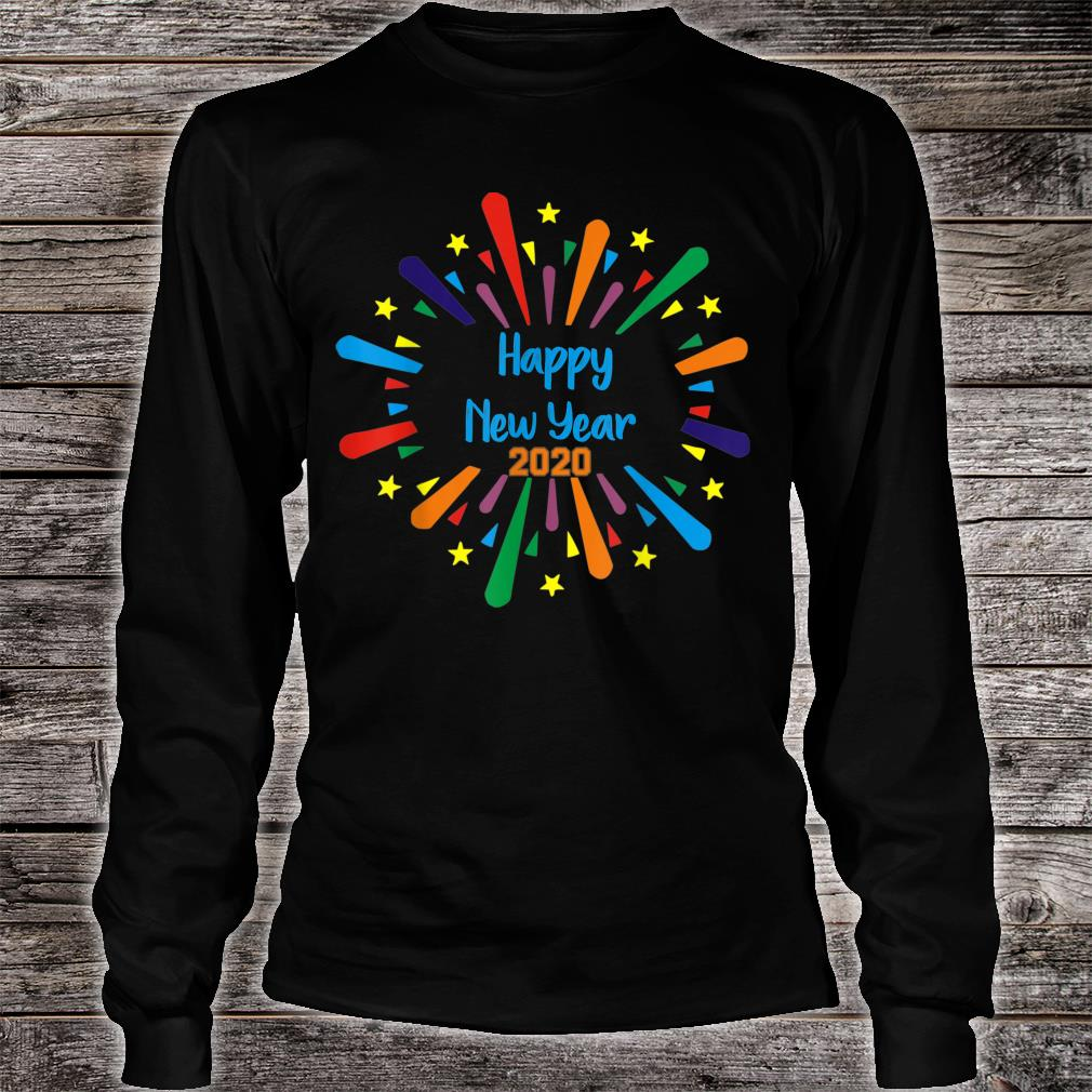 2020 Happy New Year gift Shirt long sleeved