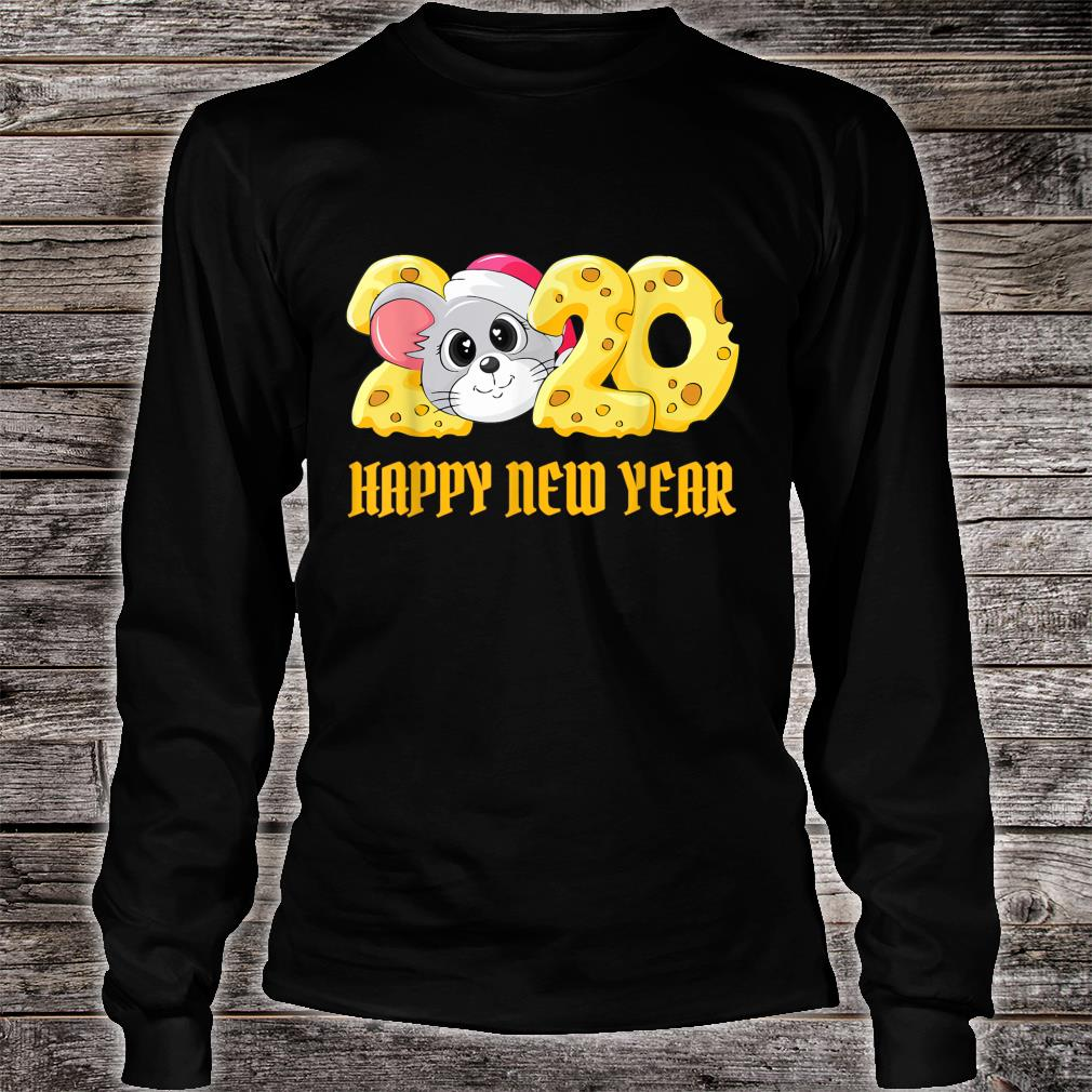 2020 Year of The Rat Happy Chinese New Year Shirt long sleeved