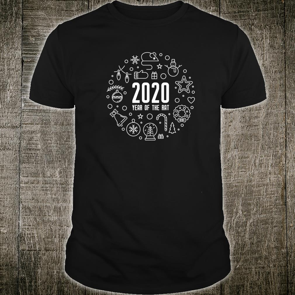 2020 Year of The Rat New Year Shirt