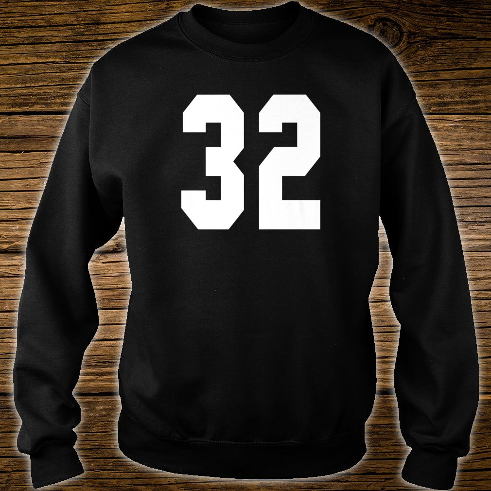 # 32 Team Sports Jersey Front & Back Number Player Fan Shirt sweater