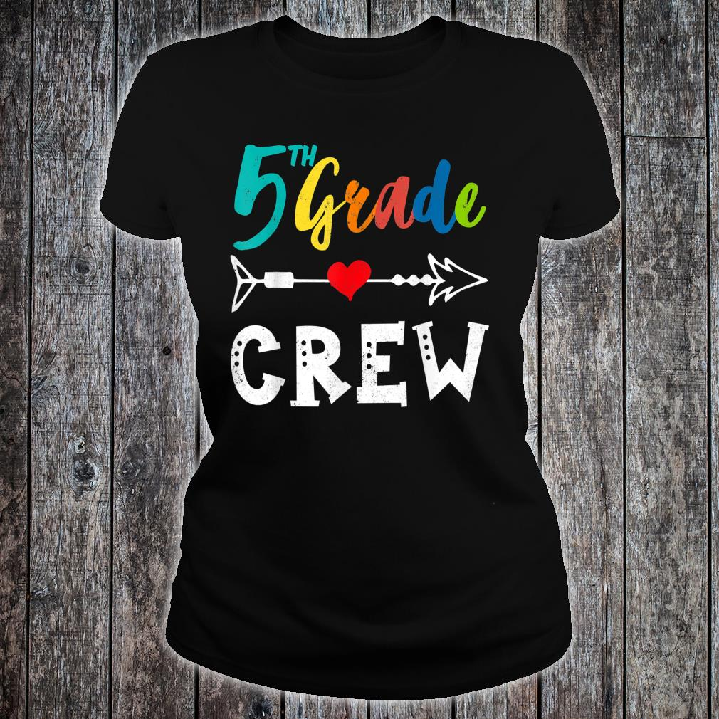 5th Grade Teacher Shirt ladies tee