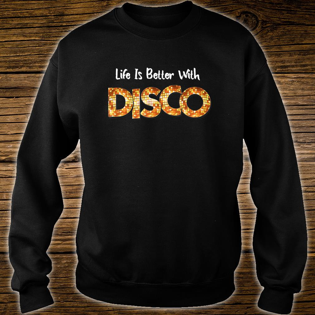 70's 80s Disco Dancing Party Vintage Retro Old School Outfit Shirt sweater